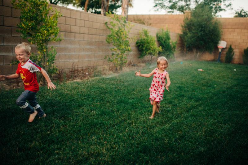 backyard mini session